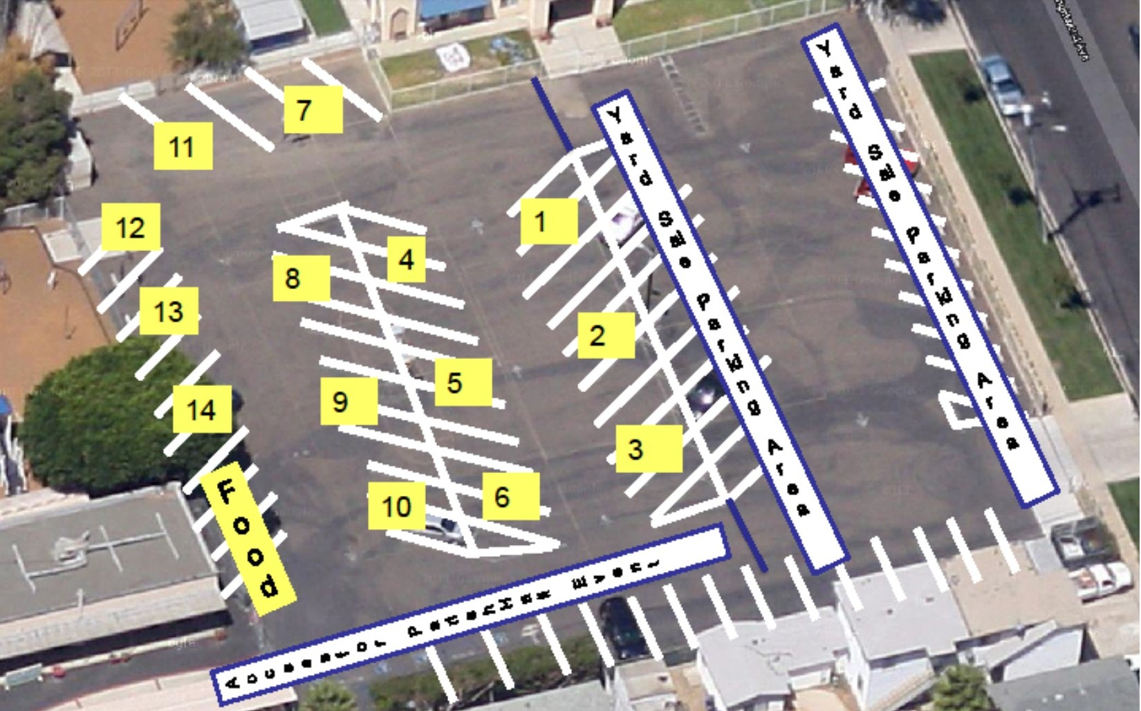 Parking Lot Sale map cropped